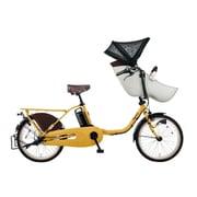 BE-ELFD032Y [電動アシスト自転車 ギュット・クルーム・DX 20型 内装3段変速 16.0Ah マットハニー]