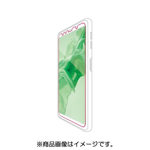 PM-GA7FLF [Galaxy A7/液晶保護フィルム/防指紋/反射防止]