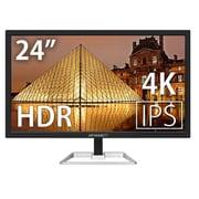 JN-IPS244UHDR [24型ワイド 液晶モニター 4K Ultra HD対応]