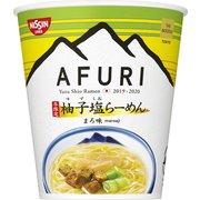 限定 日清 THE NOODLE TOKYO AFURI 冬限定柚子塩らーめん まろ味 93g