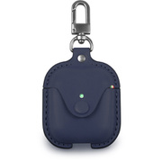 CLCPO002 [Cozistyle - AirPods Leather Case Dark Blue]