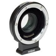 MB_SPEF-m43-BT8 [マウントアダプター ボディ側:BMPCC4K レンズ側:Canon EF Speed Booster ULTRA 0.71x  APS-Cレンズ専用 電子接点付き Tフロック加工 ブラック]