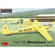 KPM0154 FVA-10b ラインランドグライダー チェコ [1/72スケール プラモデル]