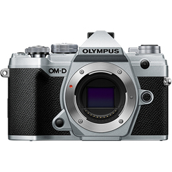 Olympus OM-D E-M5 Mark III Silver Body with Black M.Zuiko Digital ED 12-45mm F4.0 PRO Lens Kit