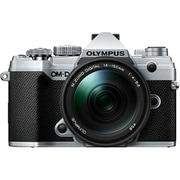 OM-D E-M5 Mark III 14-150mmII レンズキット SLV [ボディ+交換レンズ「M.ZUIKO DIGITAL ED 14-150mm F4.0-5.6 II」 シルバー]