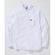 チャムスオックスシャツ CH02-1074 White Logo Lサイズ [アウトドア シャツ メンズ]