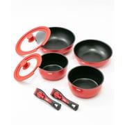 キャンパー4ポットセット Camper 4 Pot Set CH62-1389 [アウトドア 調理器具 鍋フライパンセット]