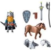 9345 [プレイモービル 城と騎士 ドワーフ戦士とポニー]