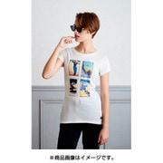AlpineCollageTシャツ SNW013033 ホワイトJ10 Mサイズ [アウトドア カットソー レディース]