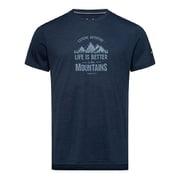 Tシャツ SNM013464 chネイビーL49 Sサイズ [アウトドア カットソー メンズ]