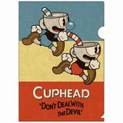 CUPHEAD A4クリアファイル2 [キャラクターグッズ]