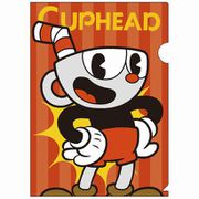 CUPHEAD A4クリアファイル3 [キャラクターグッズ]