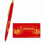 CUPHEAD BICボールペン 1レッド [キャラクターグッズ]