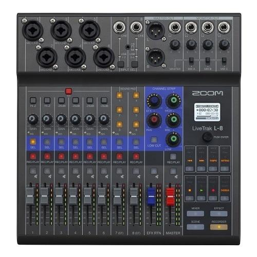 LiveTrak L-8 [8-Track Mixer/Recorder]