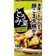 とろみ菜 濃厚ごまみそ風味の豚ごま大根炒め 140g