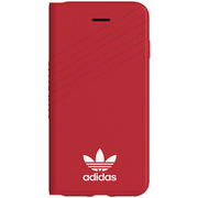 37377 [iPhone 8/7 OR-Booklet case Royal Red/White]