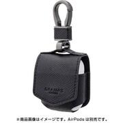 AirPods BLK EURO Passione PU Leather Case