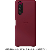SCBJ10JP/R [Xperia 5 Style Cover]
