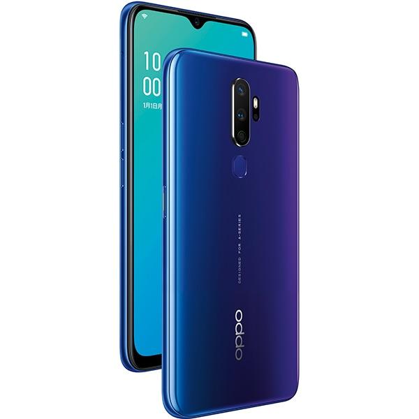 OPPO A5 2020 ブルー [SIMフリースマートフォン ColorOS 6.0(Based on Android9.0)搭載 メインメモリ4GB 内部ストレージ64GB]
