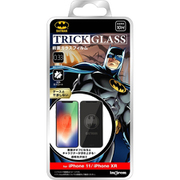 IN-WP21FG/BM1 [iPhone 11/XR 『バットマン』/トリックガラスフィルム 10H/バットマン]