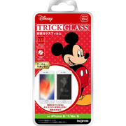 IN-DP7S6FG/MK1 [iPhone 8/7/6s/6 『ディズニーキャラクター』/トリックガラスフィルム 10H/『ミッキーマウス』]
