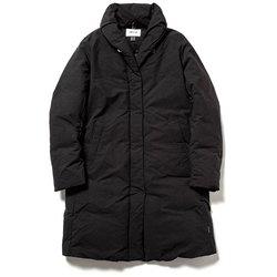 ショールカラーダウンコート N1SC BLK ブラック WSサイズ [アウトドア ダウンウェア レディース]
