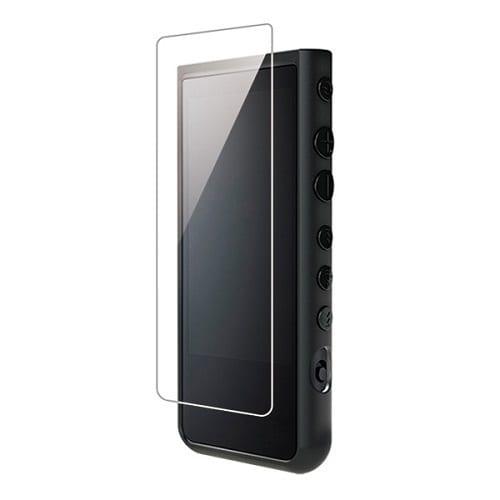 CP-NWZX50C2/BB [NW-ZX500シリーズ用フルアーマーケース(ハイブリッドソフトケース) ブラック/カーボンブラック]