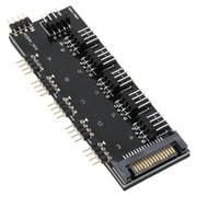 RLD-SPL5FAN5 [LED、PWMファン分岐基盤]
