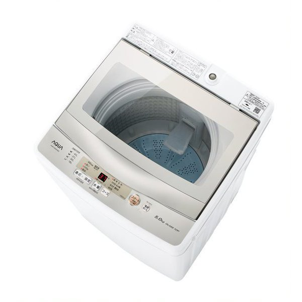 AQW-GS50H(W) [簡易乾燥機能付き洗濯機 5.0kg ホワイト]