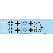 EDUD48037 Fw190A-8 国籍マークデカール エデュアルド用 [1/48スケール デカール]