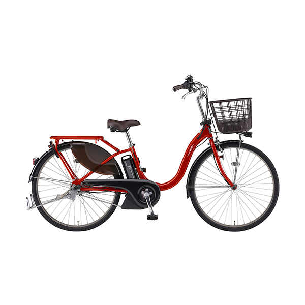PA26W [電動アシスト自転車 With 26インチ 12.3Ah Vレッド]