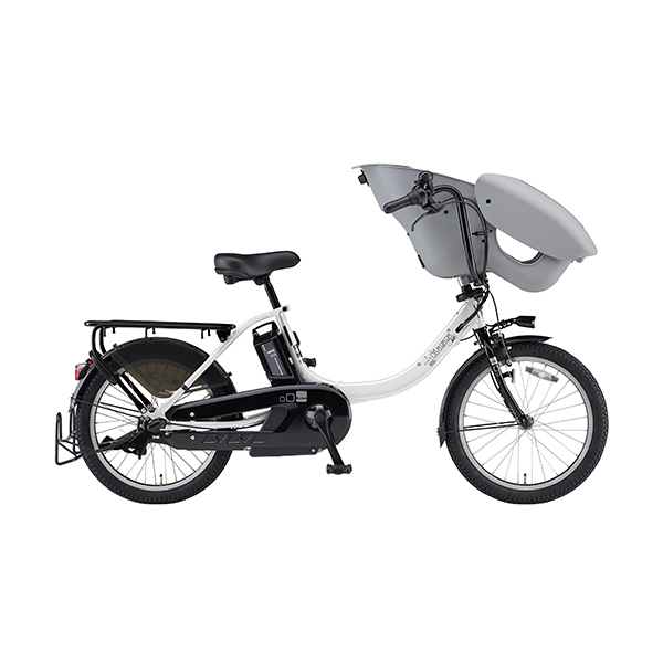 PA20KSP [電動アシスト自転車 PAS Kiss mini un SP(パス キッス ミニ アン スーパー) 20型 内装3段変速 15.4Ah ピュアパールホワイト]
