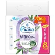 ピュアナ ウエットティシュー 除菌99.99% 詰替 42枚×8P