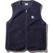 ファイバーパイルベスト(メンズ) FIBERPILE Vest HE51979  (N2)ネイビー WMサイズ [アウトドア ベスト レディース]