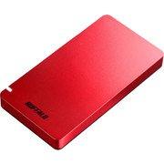 SSD-PGM480U3-R [耐振動・耐衝撃 USB3.2(Gen2)対応 ポータブルSSD 480GB レッド PS4対応]