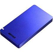 SSD-PGM480U3-L [耐振動・耐衝撃 USB3.2(Gen2)対応 ポータブルSSD 480GB ブルー PS4対応]