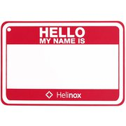 Hello my name is パッチ 19759017004000 レッド [ネームタグ]
