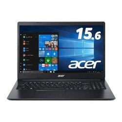 A315-34-F14U/K [ノートパソコン Aspire 3 Celeron N4000/4GB/256GB SSD/ドライブなし/15.6型/Windows 10 Home/日本語配列/チャコールブラック]