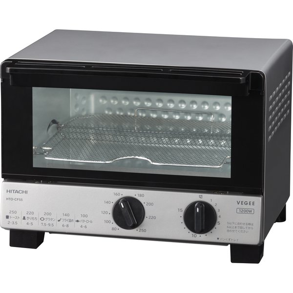 HTO-CF55 H [オーブントースター メタリックグレー]