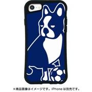 mksjp-set-678-nv サ [iPhone SE(第2世代)/8/7/6s/6 4.7インチ用 WAYLLY-MK サッカージャンキー パンディアーニ ネイビー]