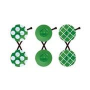 chiisai tack(ドット・無地・斜め格子) 緑