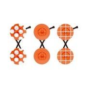 chiisai tack(ドット・無地・格子) 橙