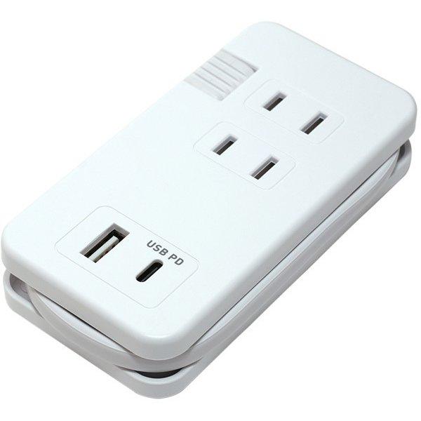 IPA-24AC4/WH [USB PD対応モバイルUSB ACタップ 白]
