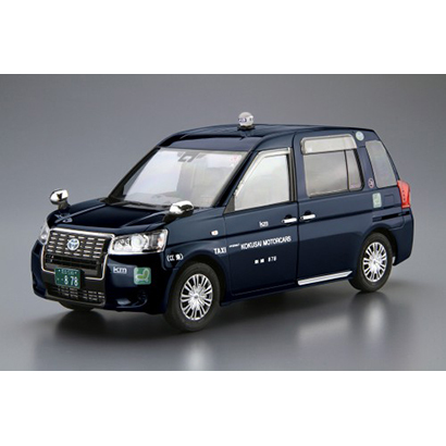 ザ・モデルカー トヨタ NTP10 JPNタクシー '17 国際自動車仕様 [1/24スケール プラモデル]
