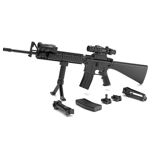 リトルアーモリー LA056 M16A4タイプ [1/12スケール フィギュアアクセサリ]
