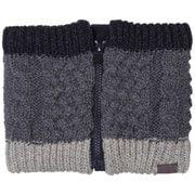 Cable Knit Neck Warmer PH868NW60 グレイ [アウトドアネックウォーマー レディース]