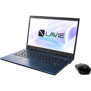 PC-HM350PAL-YC [LAVIE Home Mobile 14型/Core i3-8145U/8GB/512GB(SSD)/Windows 10 Home 64bit/Microsoft Office Home & Business 2019/ブルー ヨドバシカメラオリジナルモデル]