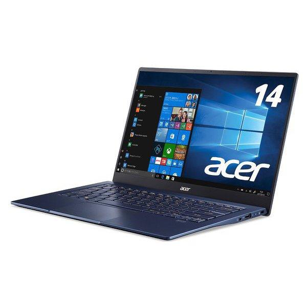 SF514-54T-F58Y/B [Swift 5/Core i5-1035G1/8GB/512GB SSD/ドライブなし/14.0型/Windows 10 Home/日本語配列/チャコールブルー]