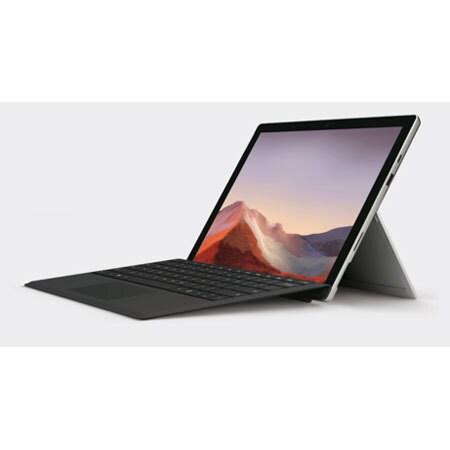 QWT-00006 [Surface Pro 7/Intel Core i3-1005G1/SSD 128GB/メモリ4GB/Office Home and Business 2019/プラチナ/タイプカバー同梱版/限定]