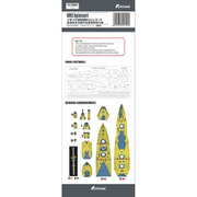 FH710084 1/700 イギリス海軍 戦艦 エジンコート マスキングシート FH1310用 [1/700 艦船用パーツ]